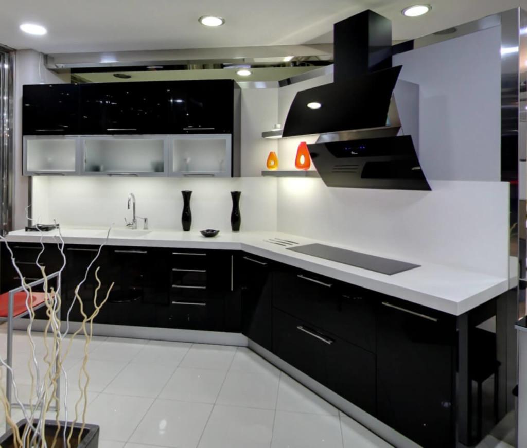 Iluminar cocina moderna