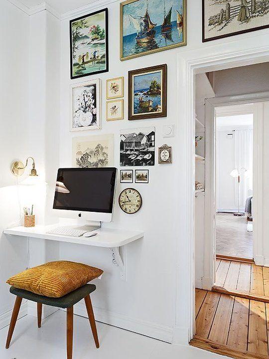 Ideas para tener tu propio espacio de trabajo en casa