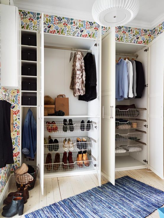 Crear un closet en un espacio peque o for Ideas para closets pequenos