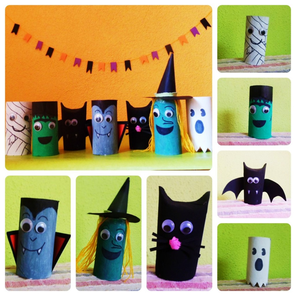 Decoraci n para halloween conejos para una casa de miedo for Decoracion halloween manualidades