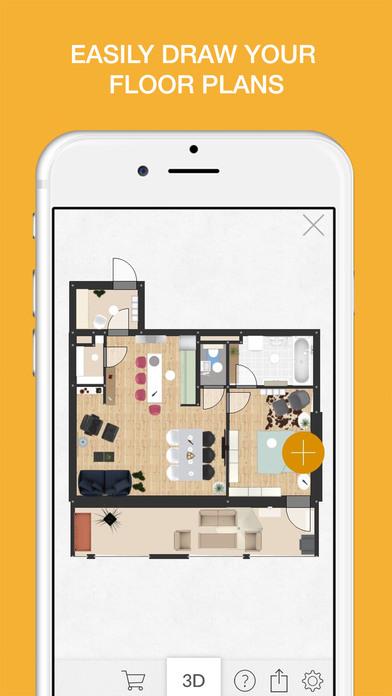 5 apps para decorar espacios en tu casa. Black Bedroom Furniture Sets. Home Design Ideas