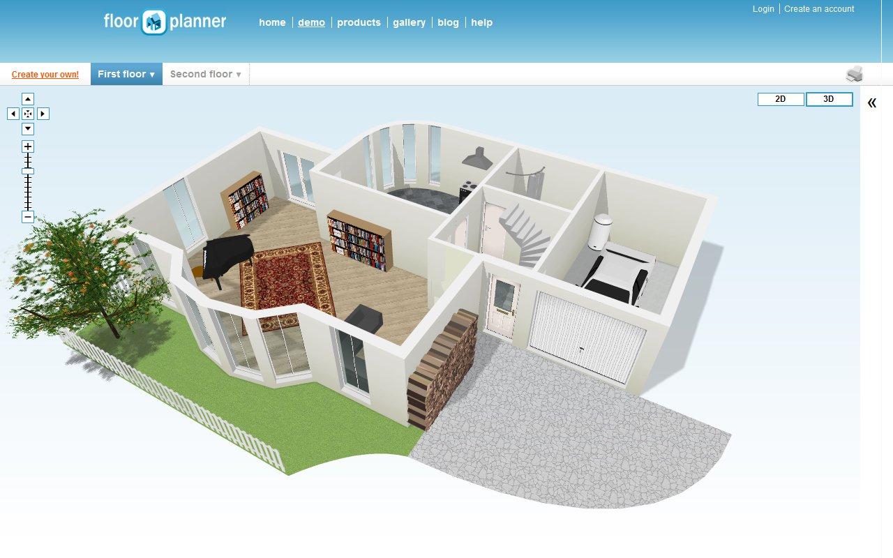 Aplicaciones para hacer los planos de tu casa for Planos para tu casa