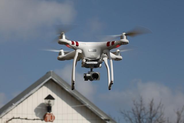 Usar drones en el sector inmobiliario