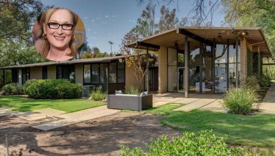 La casa de la nominada al Oscar Mery Streep