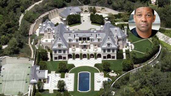 La casa del nominado al Oscar Denzel Washington