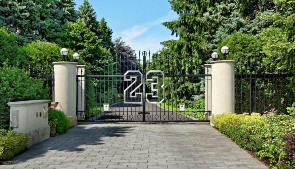 La mansión en Chicago de Michael Jordan