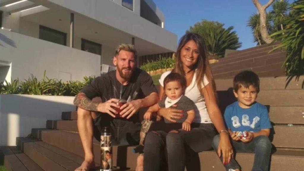 Así es la mansión de Leo Messi y su familia