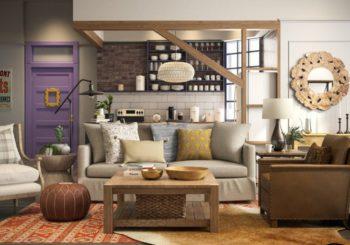 Así sería el famoso apartamento de Mónica y Chandler hoy en día