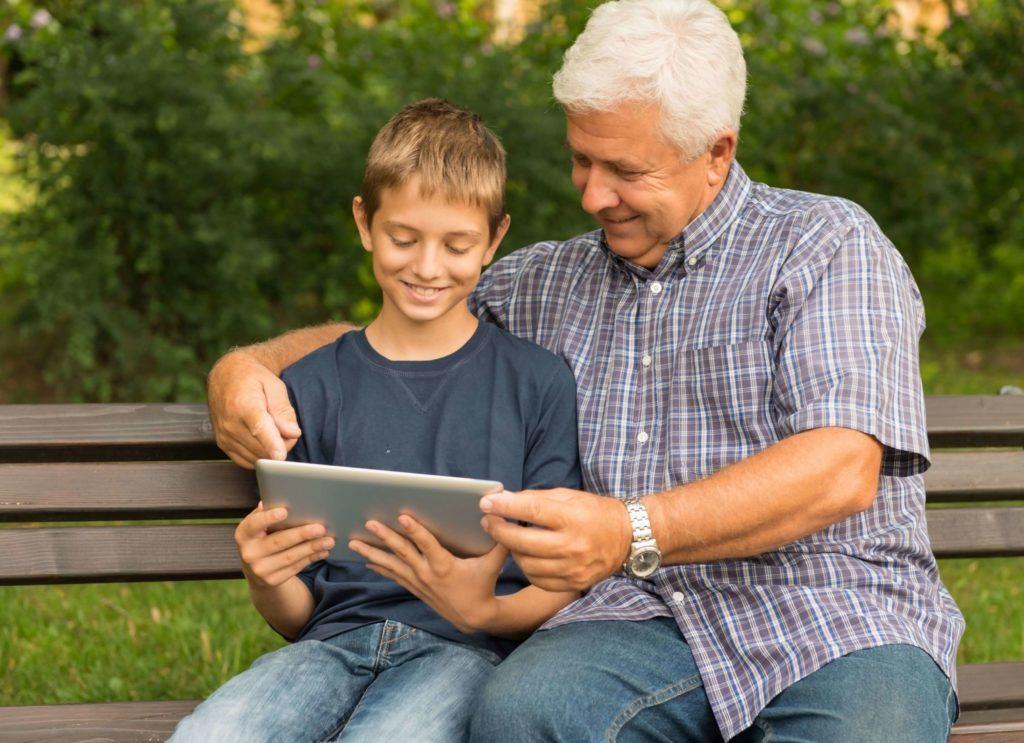 Disfruta del tiempo con tus abuelos