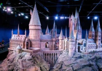 El incendio que casi acaba con los estudios de Harry Potter