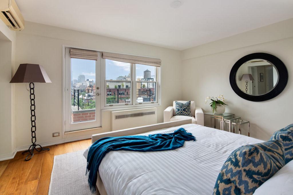 ¿Sabes cómo es el dormitorio de Julia Roberts?