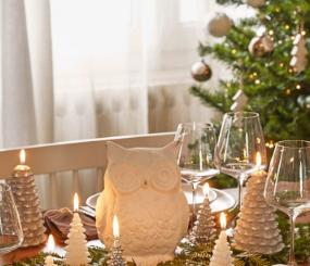 Cómo decorar tu centro de mesa esta Navidad