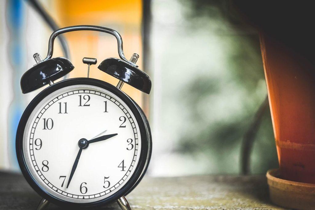 Tiempo de microhábito de asesor inmobiliario