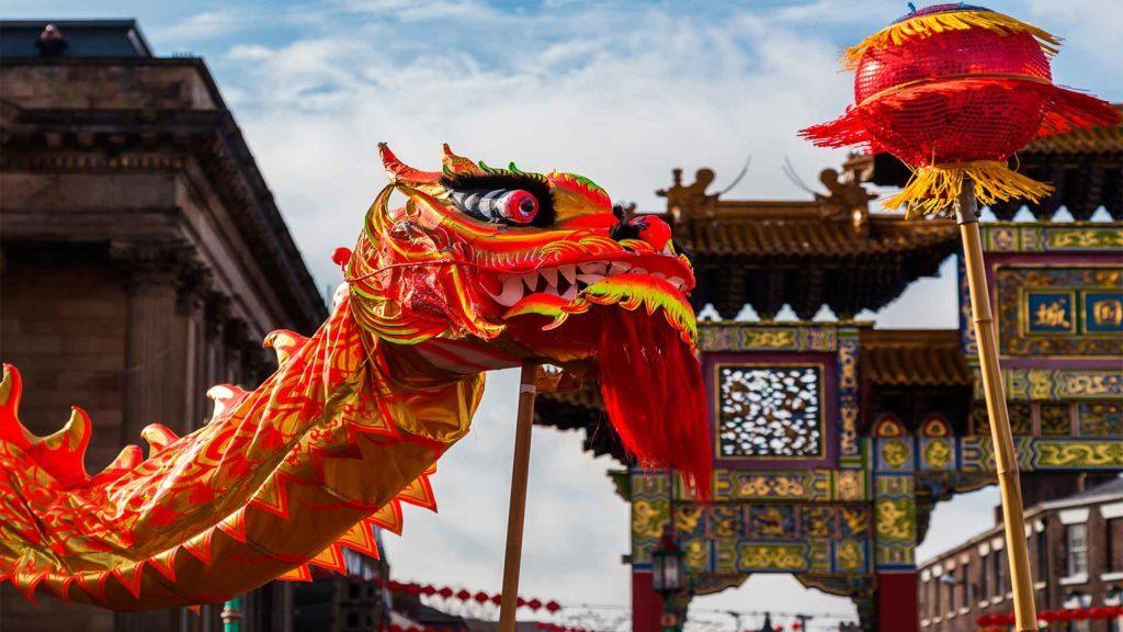 El color rojo manda durante el año nuevo chino
